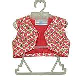 Little Emporio Sari chaqueta del algodón del diseñador de seda del bebé vestido de Choli
