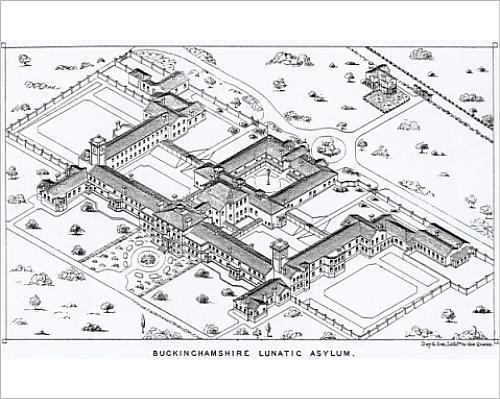 Photographic Print Of County Lunatic Asylum, Aylesbury, Buckinghamshire
