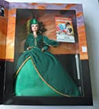 Hollywood Legends Collection Barbie Doll Scarlett O'Hara in Green Drapery Dress