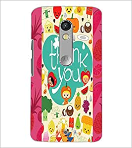 PrintDhaba Quote D-4982 Back Case Cover for MOTOROLA MOTO X PLAY (Multi-Coloured)