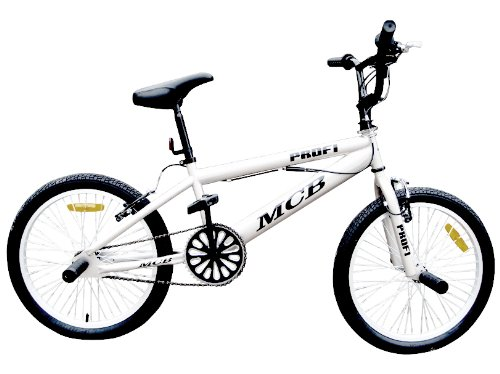 bmx freestyle fahrrad bike 20 zoll 360 rotor wei. Black Bedroom Furniture Sets. Home Design Ideas