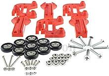 [Sintron] 3d impresora Kossel Mini Prime línea rodillo rueda de carruaje + 696ZZ rodamientos, reemplazar lineal barandilla MGN12para RepRap Rostock Kossel delta Mini