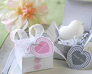 baby shower heart soap for wedding gift and favors set of