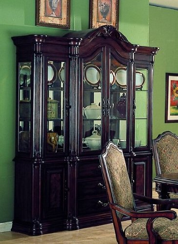 Cheap Carlsbad Collection Hardwood China Cabinet /Buffet Hutch (VF_HE1360-50)