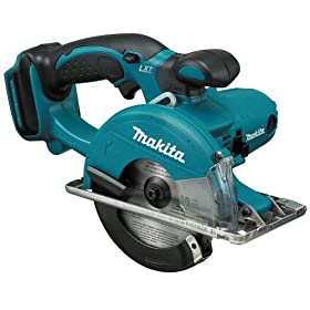 Bare-Tool Makita BCS550Z 18-Volt LXT Lithium-Ion Cordless 5-3/8-Inch Metal Cutting Saw (Tool Only, No Battery)