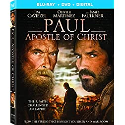 Paul, Apostle of Christ [Blu-ray]