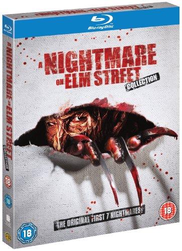 Nightmare On Elm Street 1-7 (5 Blu-Ray) [Edizione: Regno Unito] [Edizione: Regno Unito]