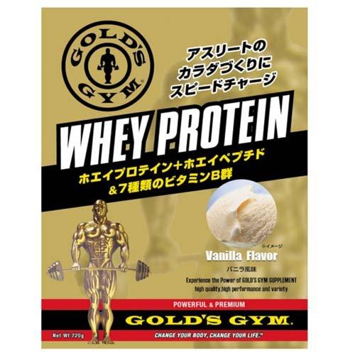 GOLD'S GYM ゴールドジム サプリメント ホエイプロテイン+ホエイペプチド&ビタミン バニラ風味 1500g F5415
