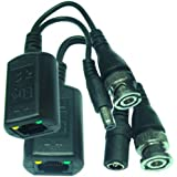 SPT 15-U1010 Passive Power and Data Audio Balun (Black)
