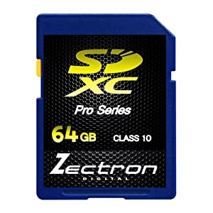 Zectron Digital 64GB Class 10 SDXC Memory Card For Nikon COOLPIX P330