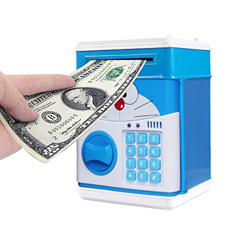 HJIAN-Piggy-Bank-Cartoon-Cash-Coin-Can-Password-ATM-Money-Box-Childrens-Money-Bank-Toy-Banks-Automatic-Bill-and-Coin-Jar-Saving-Pot