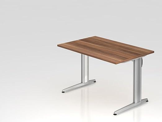 Supporto scrivania C 120x 80cm, prugna
