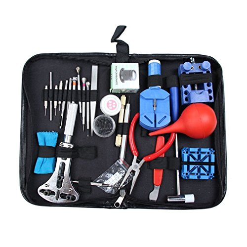 Moon Lence Moon Lence Prof 27 in1 Watch Link Opener Repair Remover Case Tool Kit Set Pin Screwdriver