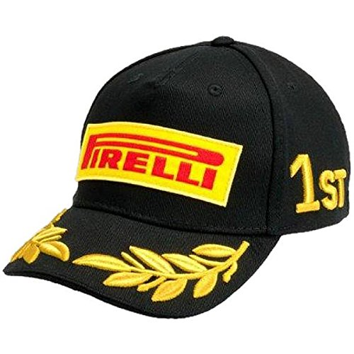 pirelli-herren-podium-cap-black-one-size