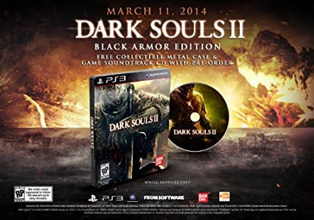 Dark Souls II (Black Armor Edition) - PlayStation 3 Black Armor Edition Edition