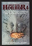 BEST NEW HORROR (4) Four: How to Get Ahead in New York; Red Reign; The Glamour; Mothmusic; Did They Get You to Trade; Norman Wisdom and the Angel of Death; The Suicide Artist; Dancing on a Blade of Dreams; The Departed; They Take; Replacements