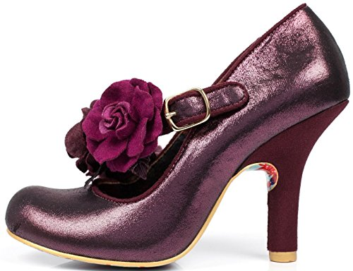 Irregular Choice Aurora Purple Womens Hi Heels Shoes-37