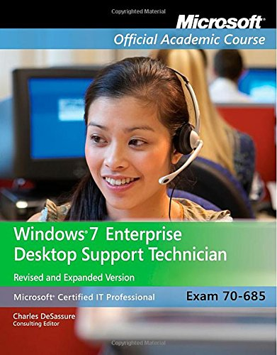 Exam 70-685: Windows 7 Enterprise Desktop Support Technician (Windows 7 Certification compare prices)