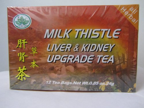 Milk Thistle Liver & Kidney Upgrade Tea (Box of 12 Tea Bags)