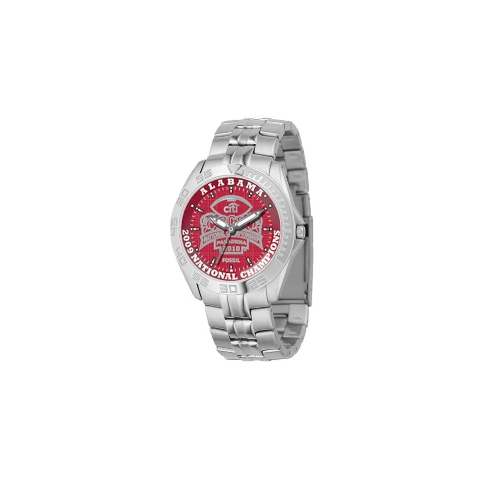 Fossil Alabama Crimson Tide 2009 Bcs National Champions Mens