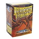 Dragon Shield Matte Red 100 Protectiv...