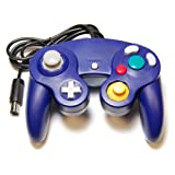 Assecure Compatible purple (indigo) controller pad joypad for Nintendo GameCube GC & Wii* classic