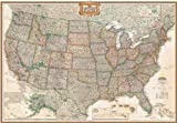 National Geographic RE00620115 United States Executive Map - Enlarged