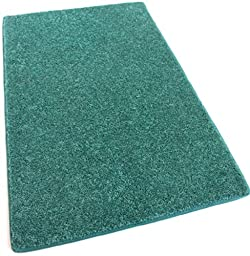 Koeckritz 30 ounce 5\' x 8\' Area Rug (Click for color options) (Teal)