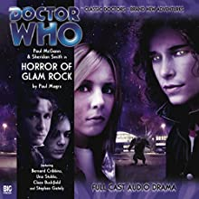 Doctor Who - Horror of Glam Rock Audiobook by Paul Magrs Narrated by Paul McGann, Sheridan Smith, Bernard Cribbins, Una Stubbs, Stephen Gately, Clare Buckfield