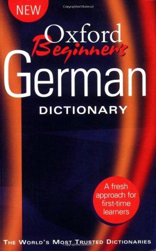 Oxford Beginner's German Dictionary