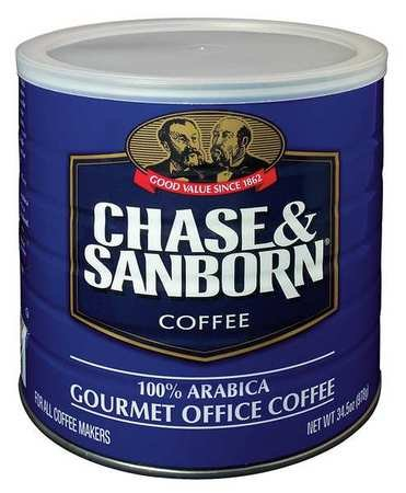 Coffee, 240 to 270 Cups, 34.5 oz. (Chase And Sanborn Coffee compare prices)