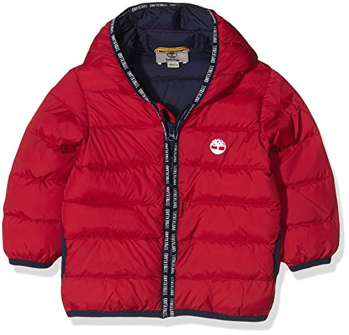 Timberland T06336, Impermeable Bimba, Rouge (Team Red), 12 Mesi