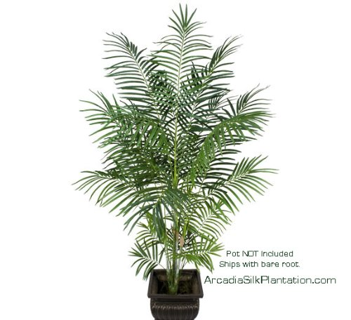 ONE 8' Artificial Tropical Areca Palm Tree