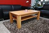 Couchtisch-Tisch-90-x-60-cm-mit-Ablage-Erle-Echtholz-Massivholz-Hhe-42-cm