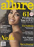 Allure June 2013 Zoe Saldana