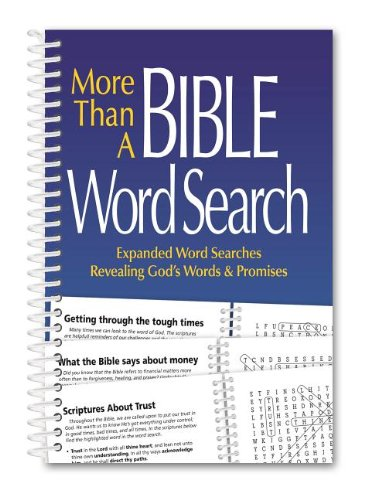More Than a Bible Word Search: Expanded Word Searches Revealing God's Words & Promises