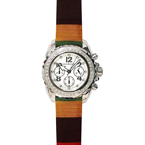 orologio cronografo unisex RoccoBarocco Rainbow trendy cod. RB0292