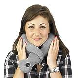 Vibrohug Neck Massager. Therapeutic, Calming Neck Massage Cushion