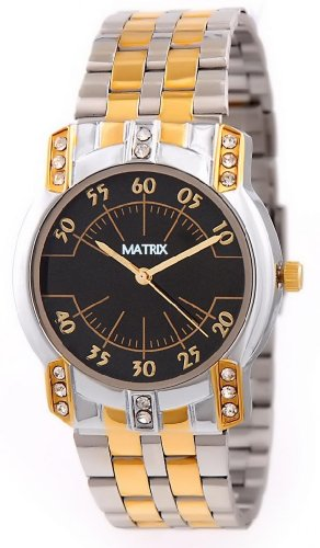 MATRIX Analog Black Dial Women's Watch-WCH-TT-WN-BK
