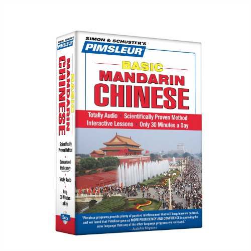 Pimsleur Chinese (Mandarin) Basic Course - Level 1 Lessons 1-10 CD: Learn to Speak and Understand Mandarin Chinese with