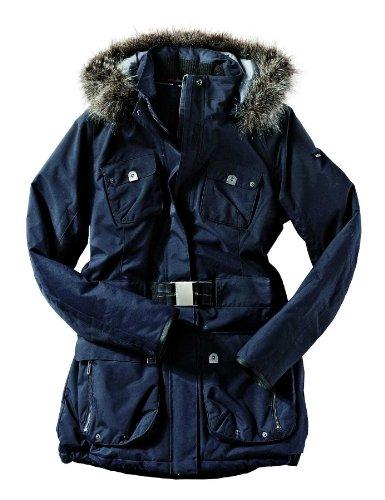 Northland Professional Damen Jacke Alexa Belt, dark blue, XXL, 02-05447