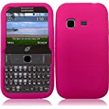 For Samsung S390G Silicone Jelly Skin Cover Case Hot Pink Accessory