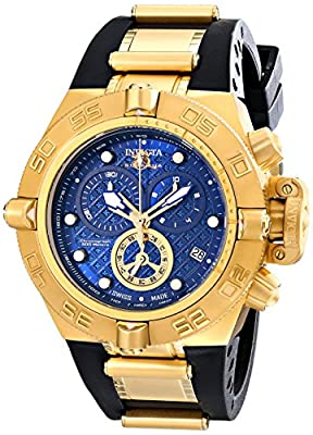 Invicta Men's 16145 Subaqua Analog Display Swiss Quartz Black Watch