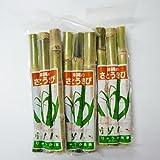 沖縄県産 さとうきび 食用 3パックセット