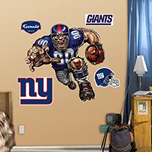 NFL New York Giants Defiant Giant Wall Graphics by Fathead
