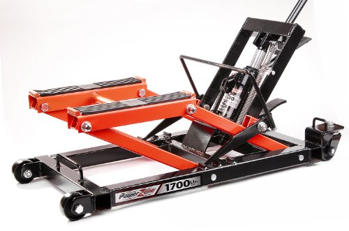 Pro380047 1700lbs Heavy Duty Hydraulic Motorcycle and ATV Jack
