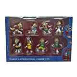 Set of 8 figures Zabivaka - Official Mascot of FIFA 2018 (GIFT BOX)