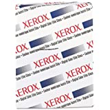 Xerox 3R11458 Digital Color elite Gloss Cover Stock, 80 lb, 8 1/2 x 11, White, 250 Sheets per Ream