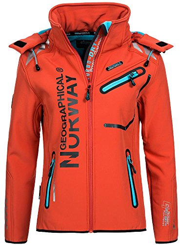 Geographical Norway Damen Softshelljacke Romantic
