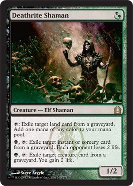 Magic: the Gathering - Deathrite Shaman (213) - Return to Ravnica by Wizards of the Coast